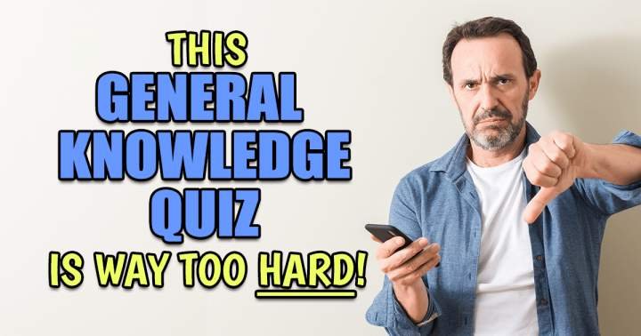 Too HARD Knowledge Quiz