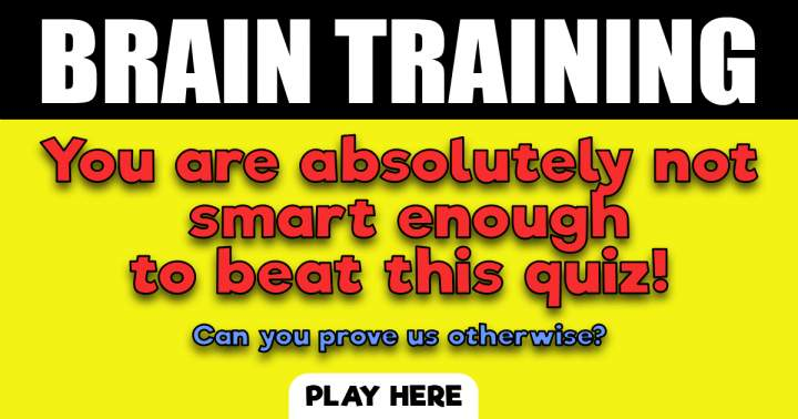 Play For Your Daily Brain Training