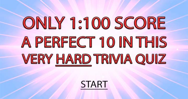 HARD Mixed Trivia Quiz