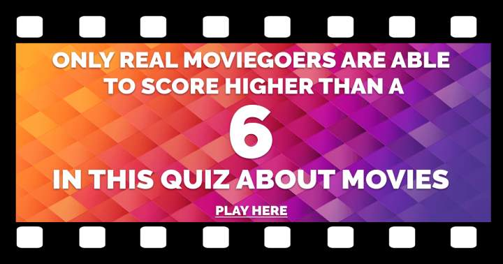 10 Challenging Movie Questions