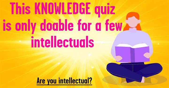 Mixed Knowledge Trivia Quiz