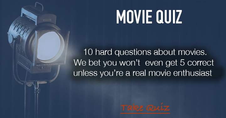10 fun questions in this trivia about blockbusters!