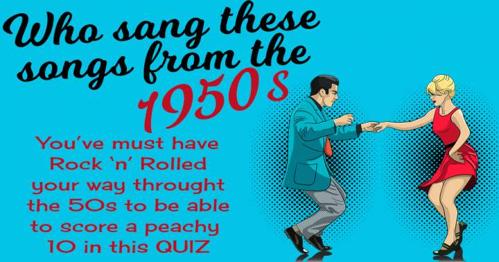 Who Sang These 50s Songs?