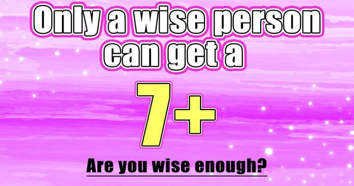 Quiz For Wise Persons